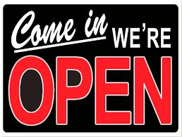 Vandaag extra geopend!